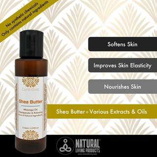 Shea Butter Massage Oil