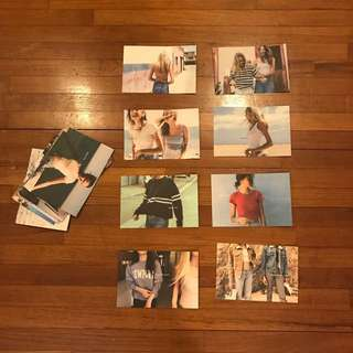 Brandy Melville Postcards x18