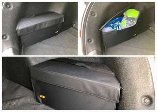 Honda Civic 10th gen - custom sized boot bags (1 pair)