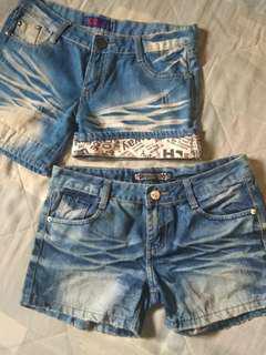 Bundle: Denim Shorts