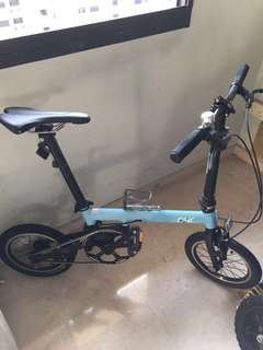 #HariRaya35 Fsir Spin folding bicycle foldie