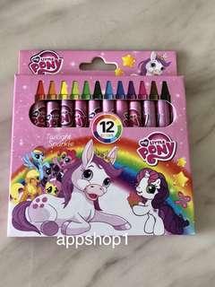 My little pony crayon- children party celebration goodies bag gift, event door gift