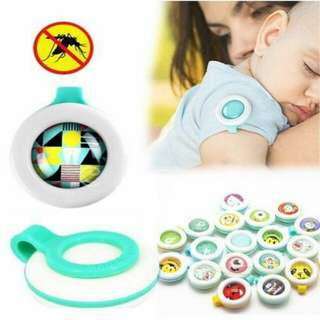 🍃Baby Insect Repellent Buckle Button Pest Anti Mosquito Clip