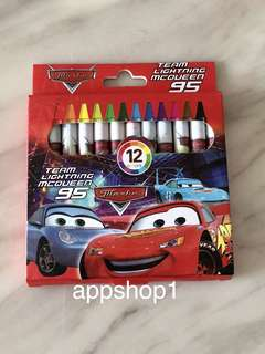 McQueen cars theme crayon- event goody bag, door gift packages