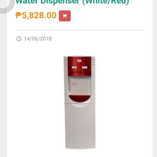 Kyow Water Dispenser KW-1512 Red Brand New