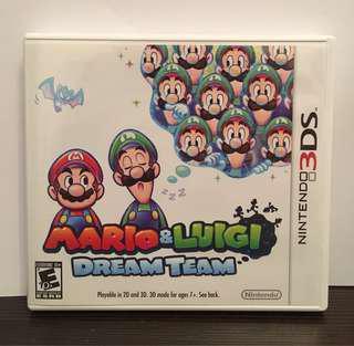 [3DS] Mario & Luigi: Dream Team - US VERSION (美版)
