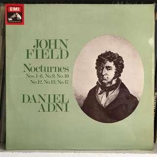 Daniel Adni plays John Field Nocturnes EMI ASD 3599
