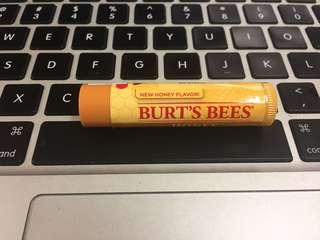 Burt's Bees lip balm new!