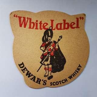 vintage whiskey coasters