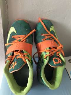 Nike Kd rubber shoes for 10 to 11 yrs old
