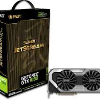 Palit GeForce GTX 1080 Super Jetstream Brand New