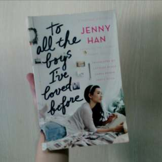 To All The Boys I've Loved Before (Filipino Ed.)