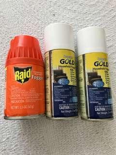 Raid household fogger / Sergeant's Gold