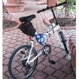 Aleoca Foldable Bicycle 12kg + Accessories (for 2)