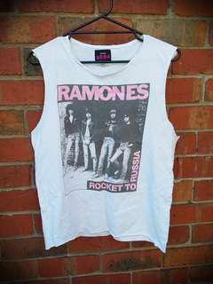 CUSTOM Ramones band shirt