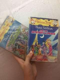 Geronimo Stilton Story Books