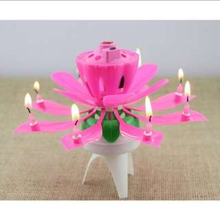 Melody Flower Birthday candle Holder