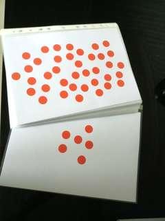 Glenn Doman DIY math cards