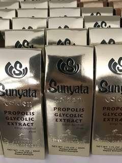 Sunyata golden propolis glycolic extra (ethyl alcohol free)