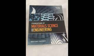 Foundation of Material science engineering