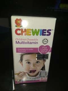 children chewable multivitamin