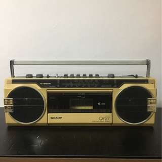 Rare! Vintage Radio and Cassette Player!
