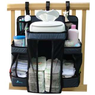 Nursery Diaper Wipes Storage Organizer