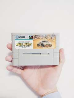 Nintendo Super Famicom Jeleco Rally Big Run Game Vartidge