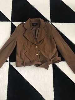Brown Moochi jacket