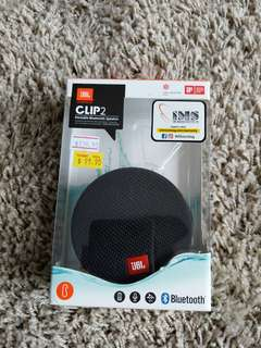 JBL Clip 2 Bluestooth Speaker (Waterproof)