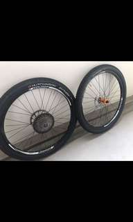 Hope Tech Enduro Wheelset c/w hope pro 4