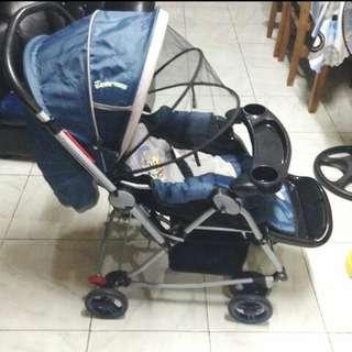 Looney toons stroller