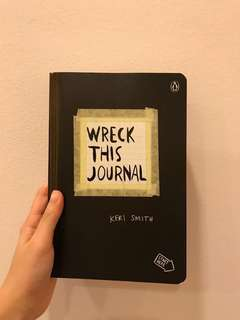 NEW | WRECK THIS JOURNAL by Keri Smith