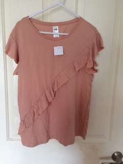Size 8 Pink Shirt New With Tag