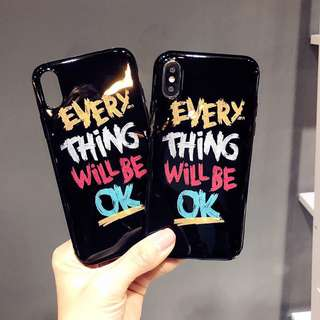 🌼C-1024 Everything Will be OK IMD Case for iPhone🌼