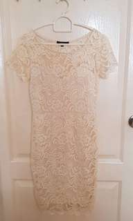 Ambiance White Lace dress