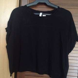 H&M Basic Hanging Crop Top