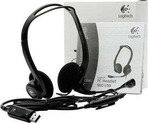 Logitech PC 960 USB Stereo Headset