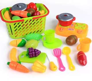 Kitchen Playset - 20items