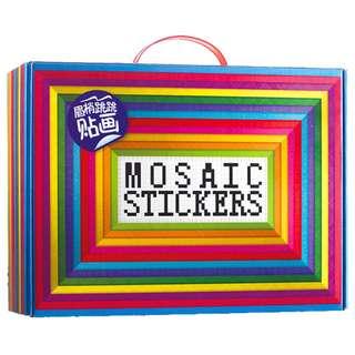 EVA Foam Mosaic Stickers Animal Pictures (Set of 12 designs)