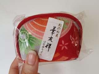 🚚 日本帶回 日式風味可愛零錢包