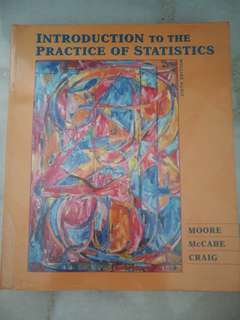 Introduction to the Practice of Statistics (Sixth Edition)
