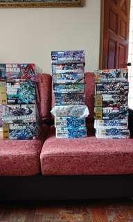 Gundam kits for sale