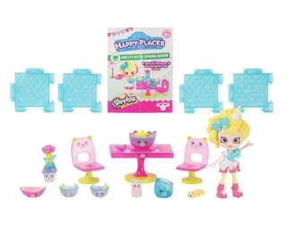 Happy Places Shopkins Welcome Pack - Pretty Kitty Dining Room