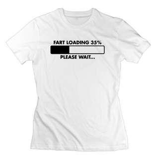 Fart Loading Please Unisex Design Apparel Tshirt Tee