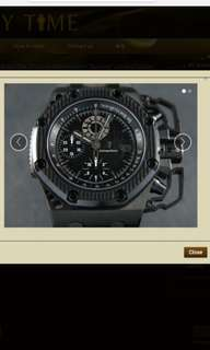"Audemars Piguet Royal Oak Offshore Chronograph ""Survivor"" Limited Edition"