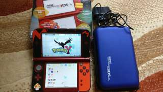 New 3DS XL + 15 games complete set