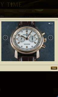 Vacheron Constantin Malte Manual Chronograph 18 ct. Rose Gold 47120