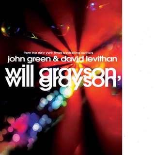 Will Grayson, Will Grayson (Will Grayson, Will Grayson #1) by John Green