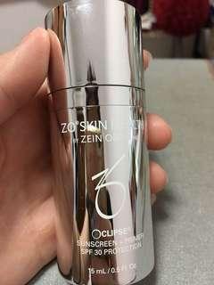ZO skin health Obagi sunblock SPF 30 + primer